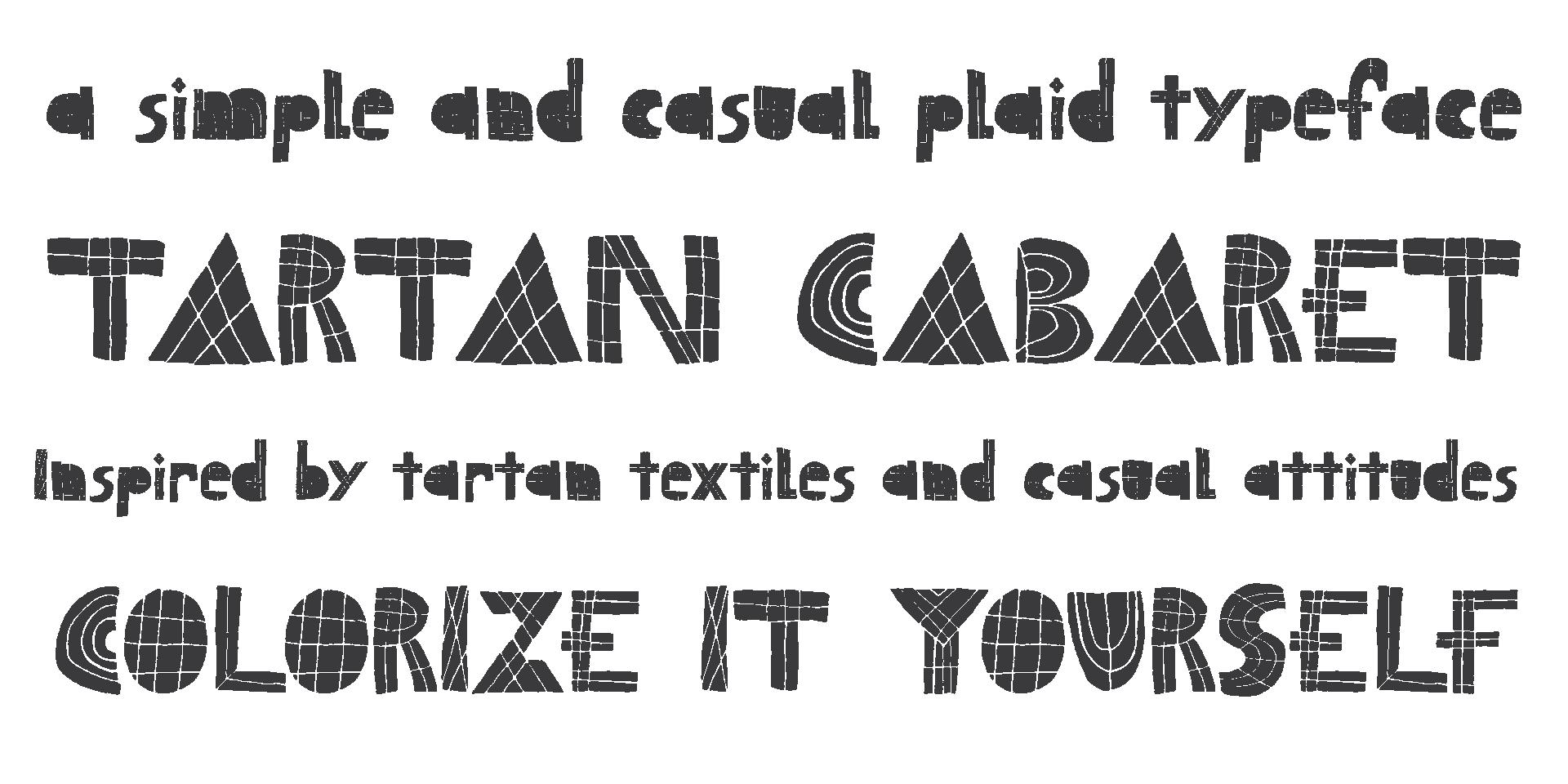 Tartan cabaret chank fonts tartancabaret biocorpaavc Image collections