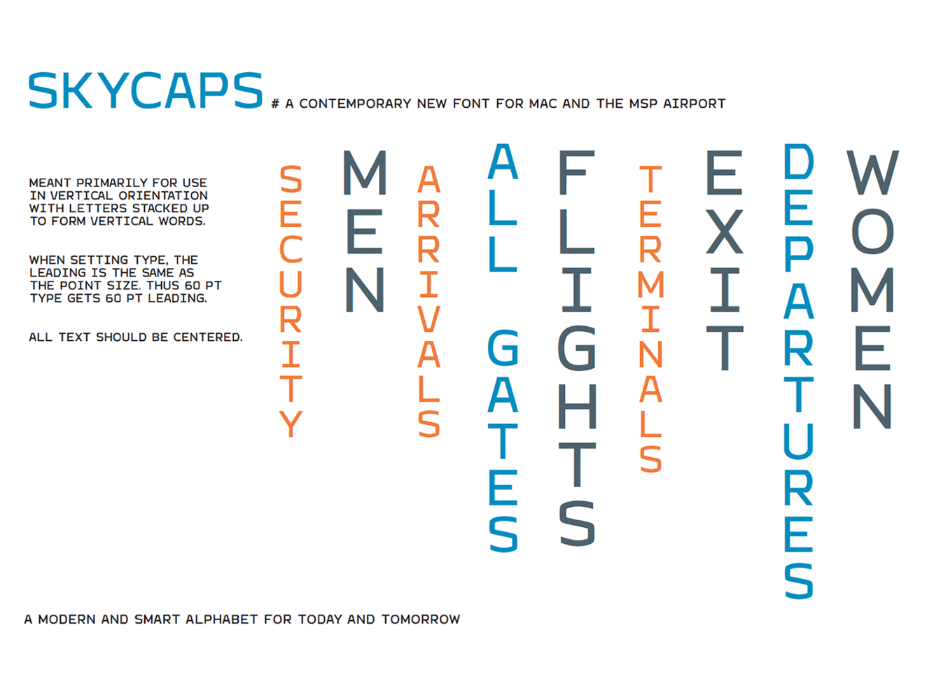 things we said font for mac